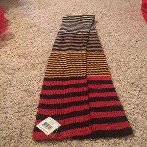 Vera Bradley striped knit scarf